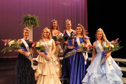Miss Centurion and her court