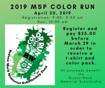 MSP Color Run and Yard Sale