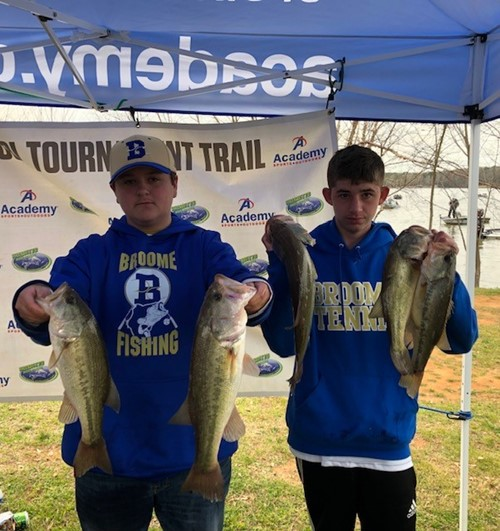 Fishing team has great catches at Lake Wylie.