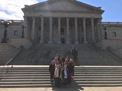 SGA Members Visited the SC State House