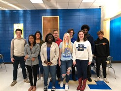 Students of the Month for January, February, and March