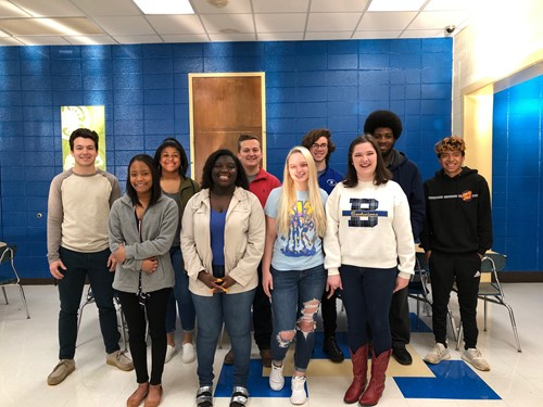 Congratulations the Broome Students of the Month
