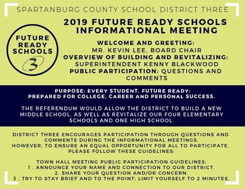 agenda for informational meeting