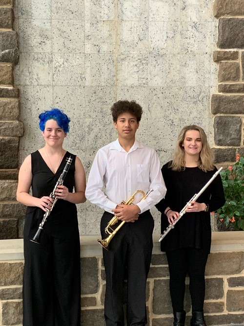 Students Qualified for Region Six Band