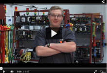 Screenshot of one of the students featured in PSA for workforce