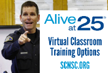 Alive at 25 Virtual Classroom Training Options