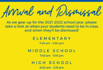 Arrival and Dismissal