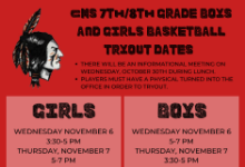 tryout dates november 6 and 7 for basketball