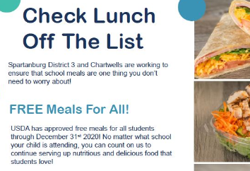 FREE meals for ALL students!