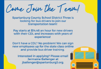 Come Join our Transportation Team!