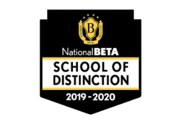 Congratulations to Cowpens Middle School for being named a National Beta School of Distinction!