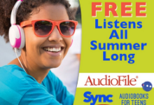 Free Audio books advertisement