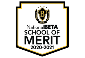 Gettys D. Broome High School has been named a National Beta School of Merit!