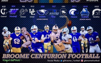 broome centurion football