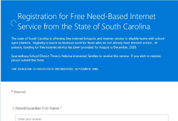 Registration is back open! State offering free Internet hot spots and Internet service