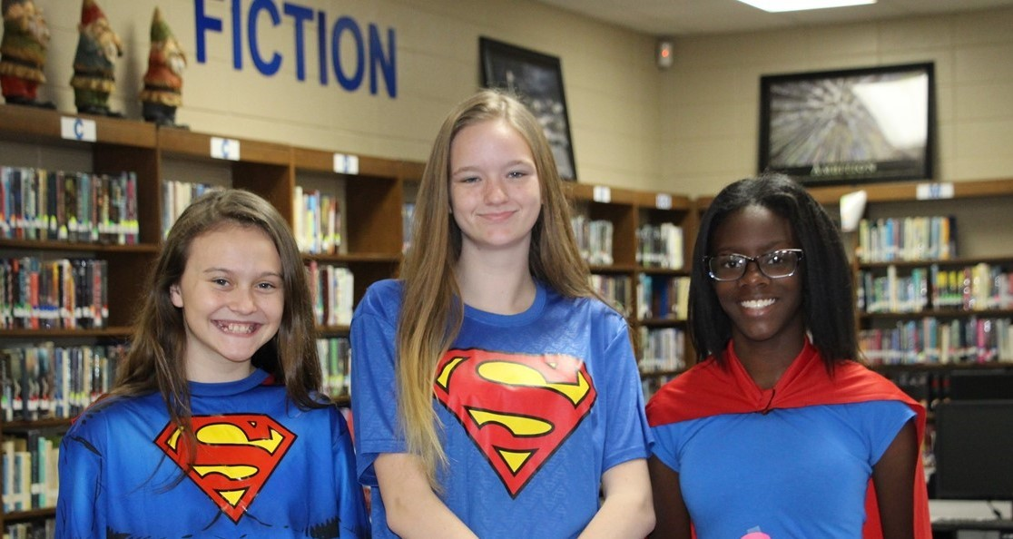 Superheroes - Homecoming 2018
