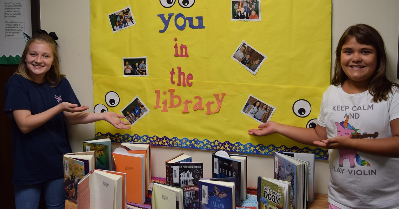 Can't wait to see you in the library!