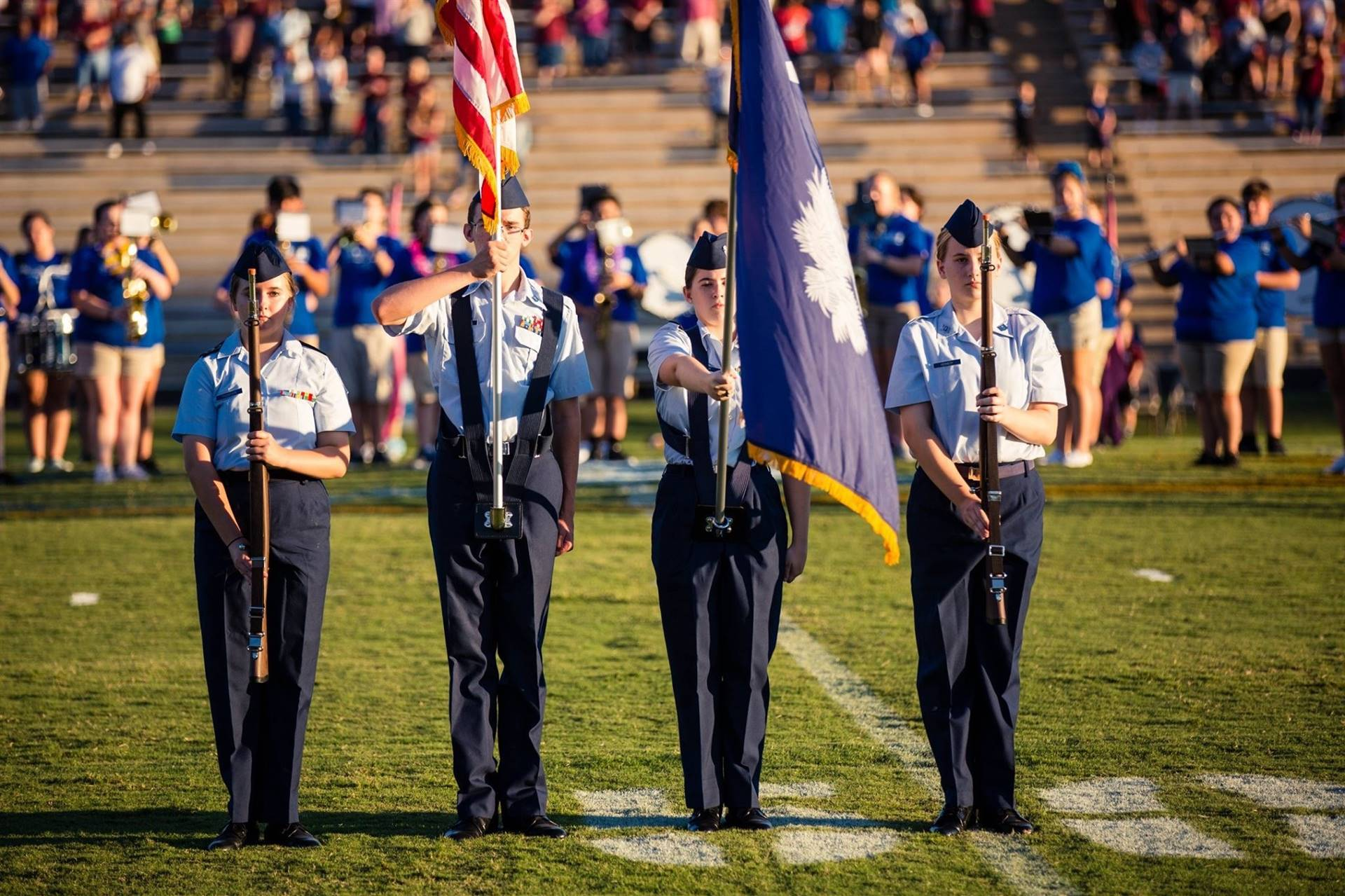 JROTC Color Guard 2019