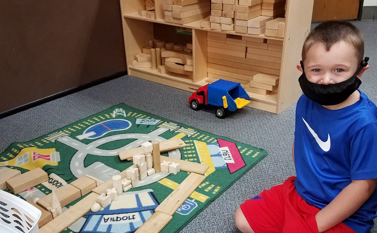 4K Building with Blocks