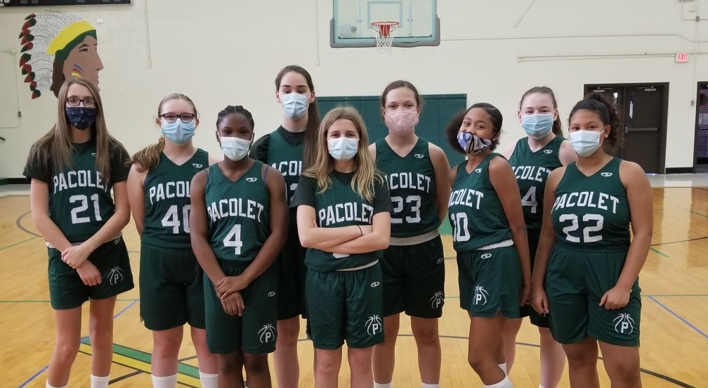 Girls Basketball Team Picture 2020.