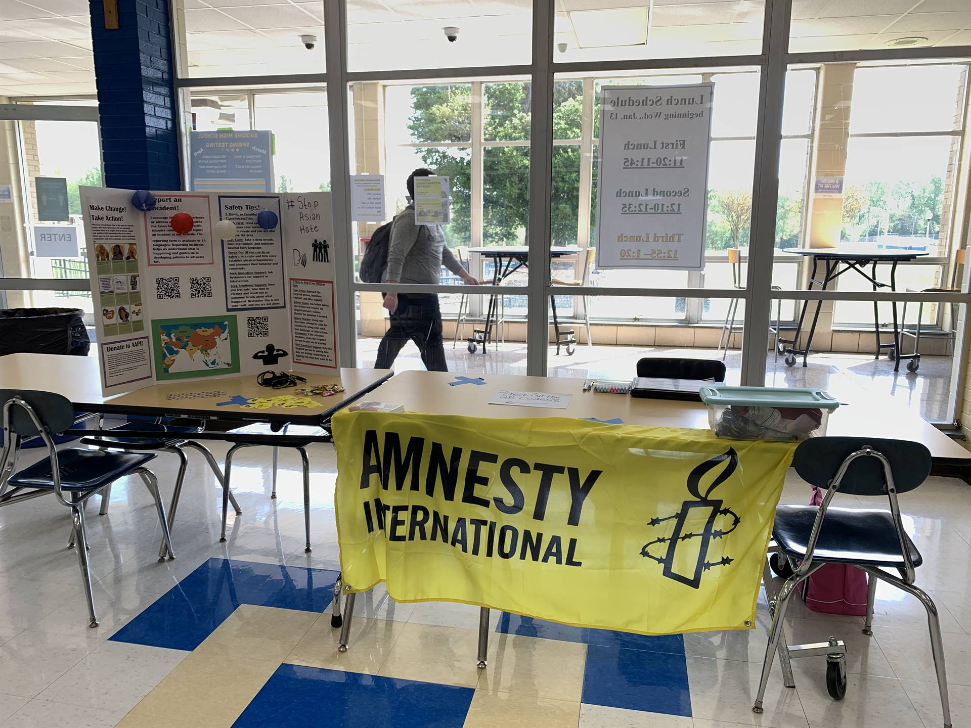 Amnesty International at Broome wants YOU to join.