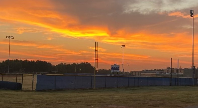Sunset at BHS